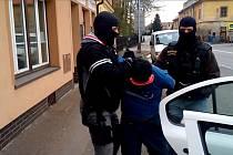 Cizinec se při zatčení bránil