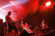 Hudební festival Léto s Rychtářem 2010 pokračoval koncertem kapely Divokej Bill.