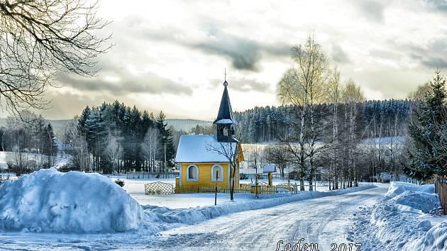 Kaplička ve Filipově u Kameniček poslal Kamila Burešová