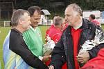 """Hlinecká """"stará garda"""" Spartak Hlinsko 1984 vyzvala pražský Kolumbus."""