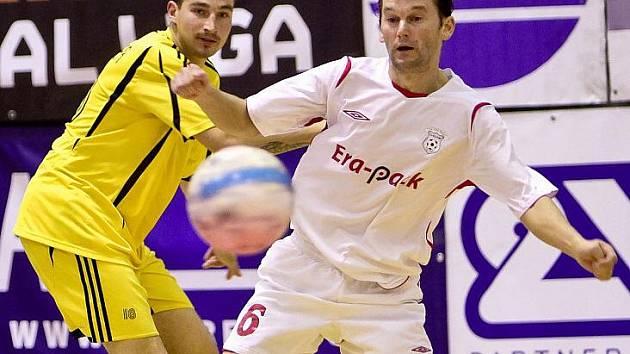 Nejzkušenější český futsalista Roman Mareš.