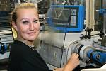 Pohled do nástrojárny v hlinecké společnosti ETA.