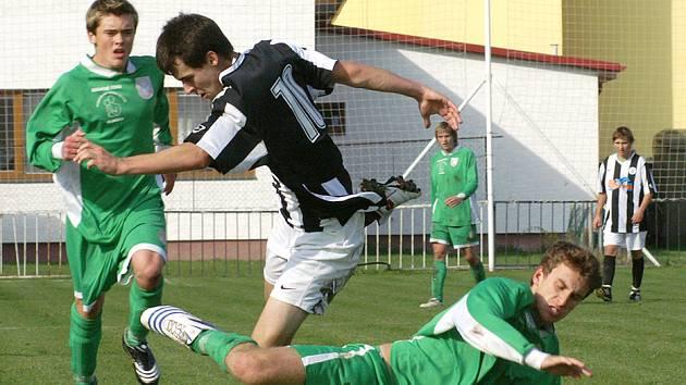 Z derby starších dorostů SK Chrudim - Hlinsko.