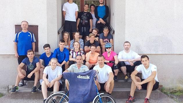 5. ročník cyklistického kurzu, který měl základnu v Horním Bradle
