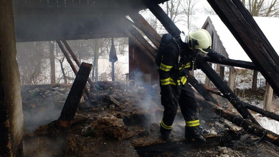 Požár si vyžádal jeden lidský život