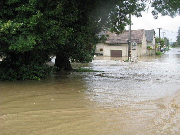 SOBĚTUCHY. Jak voda řádila v obcích na Chrudimsku