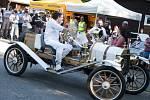Autokemp Konopáč hostil o víkendu sraz milovníků amerických aut Lucky Cruisers.