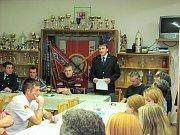 Dobrovolní hasiči z Chrudimi rekapitulovali práci minulého roku.