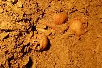 Kosterní pozůstatky nalezené při rekonstrukci kostela sv. Josefa v Chrudimi patří podle archeologů kapucínským mnichům a jsou z poloviny sedmnáctého století.