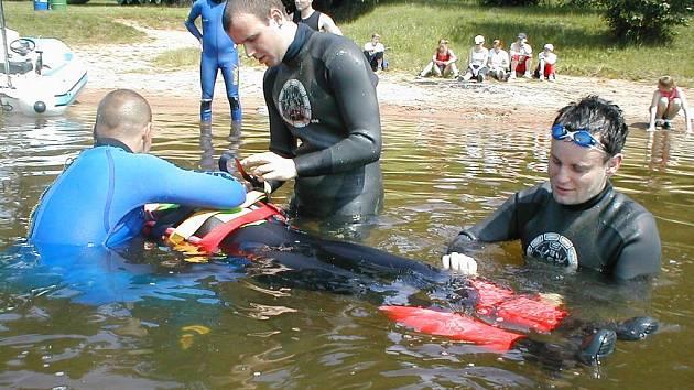 Práce sečských vodních záchranářů je pestrá a náročná.