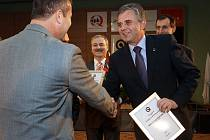 Zástupci města Chrudim převzali v Brně ocenění udělované Ministerstvem vnitra za kvalitu a inovaci