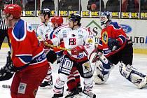 Zatímco v prvním utkání s Kobrou Praha (na snímku) vydřeli hokejisté Chrudimi jen remízu, proti Litoměřicím už bodovali naplno.