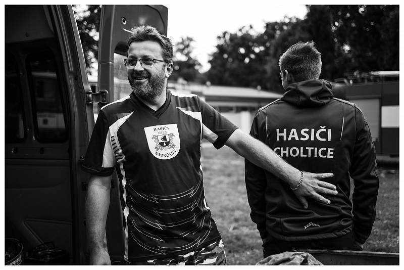Hasičské závody v Heřmanově Městci, O putovní pohár Ondry Sachse.