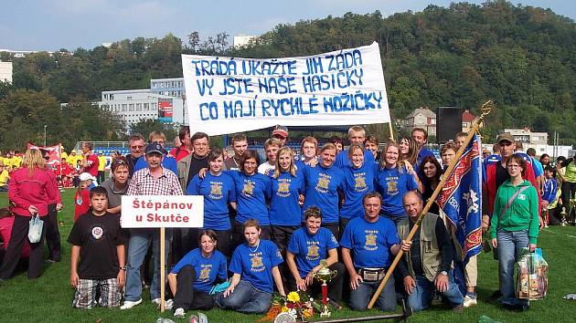 Sbor dobrovolných hasičů Štěpánov.