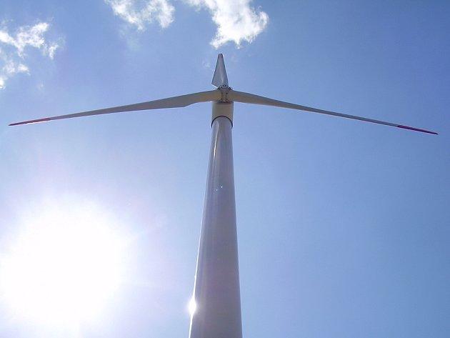 Větrná energie.