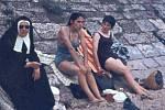 Soutežní snímek č. 1: Netradiční letní snímek byl pořízen během dovolené v Biaritzu.