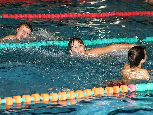 Chrudim se i v roce 2008 zapojila do plavecké štafety měst.