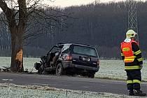 Složky IZS zasahovaly u dopravní nehody vTřemošnici.