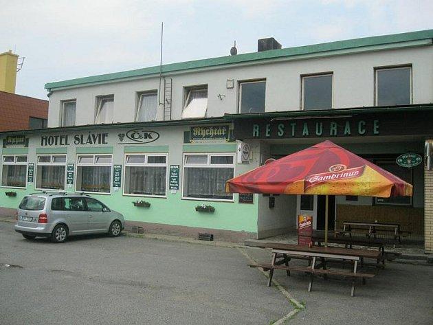Restaurace Slávie, Trhová Kamenice.