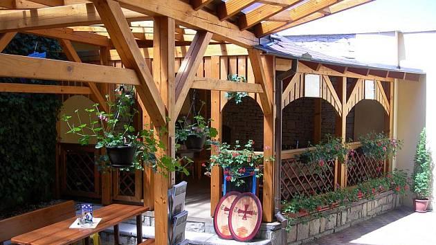 Restaurace U Bartoloměje, Luže.