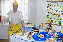 Den otevřených dveří v Odborném učilišti a Praktické škole na zámku v Chroustovicích.
