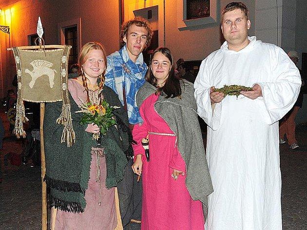 Keltský svátek Samhain si nenechalo ujít mnoho návštěvníků.