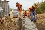 Práce na obchvatu Chrudimi jsou v plném proudu i na přelomu července a srpna.