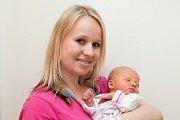 Lea Hromádková (3,15 kg a 49 cm) je po 2letém Šimonovi od 12.4. od 5:16 dalším štěstím Lucie a Libora ze Slatiňan.