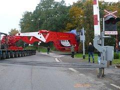Nadměrný náklad nadělal v pátek 11. října problémy v chrudimské dopravě.