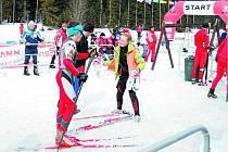 Biatlonista Milan Žemlička ze Včelákova.