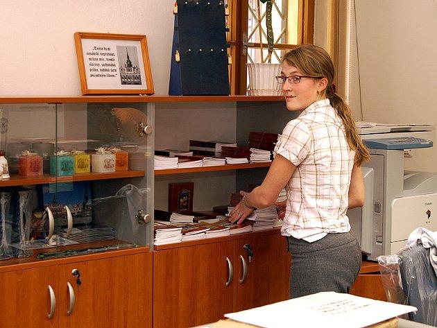 Informační centrum v Chrudimi.