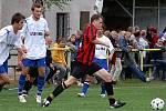 Derby Načešice - Třemošnice dopadlo lépe pro domácí, kteří porazili soupeře v boji o postup poměrem 4:1.
