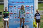 Anna Tkadlecová vyhrála MČR v biatlonu na horských kolech