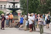 Den s Deníkem v Heřmanově Městci.