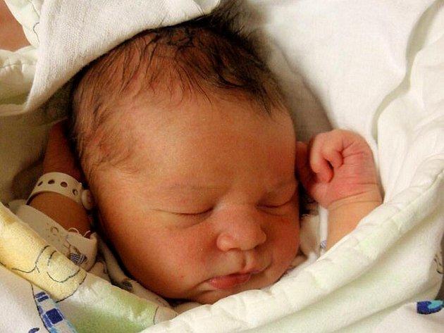 JAN TICHÝ se narodil 28. ledna v 19:30 Olze Kárníkové a Miroslavu Tichému z Prachovic. Klouček vážil 3,85 kilogramu a měřil 53 centimetrů.