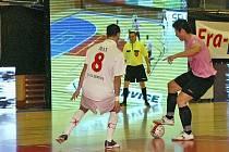 """""""Myslím si, že se nám generálka na UEFA Futsal Cup vydařila,"""" řekl po zápase trenér chrudimských futsalistů Ota Stejskal."""