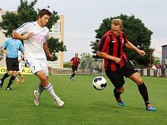 Z fotbalového přípravného utkání MFK Chrudim - UNION 0:2.