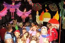 Děti z dolnoslezského vojvodství přijely na návštěvu za školáky do Stolan.