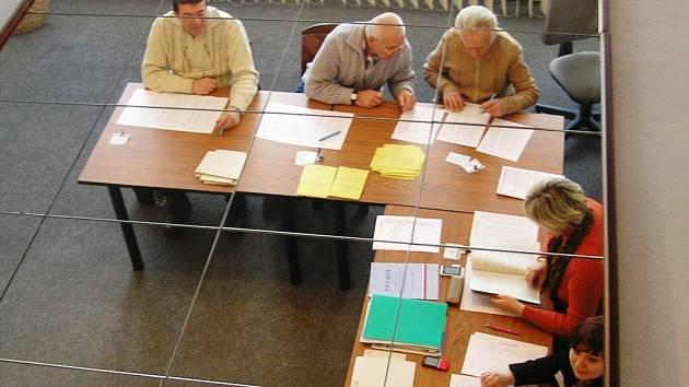 Z druhého kola prezidentských voleb v Třemošnici.