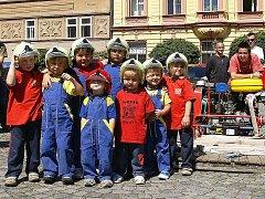 Centrum Chrudimi patřilo Dnu požární ochrany a prevence.