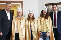 Tři králové na chrudimské radnici