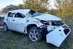 Následky tragické nehody u Luže