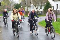 Cyklovýletu nazvaného Od pramene Doubravy do Ronova nad Doubravou se tentokrát zúčastnilo 35 cyklistů.