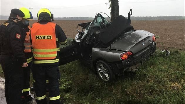 Dopravní nehoda u Rabštejnské Lhoty