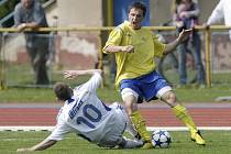 Z divizního derby AFK Chrudim - Letohrad 1:1.