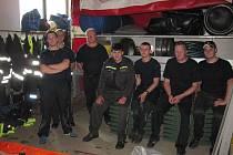 Chrastečtí dobrovolní hasiči na stáži