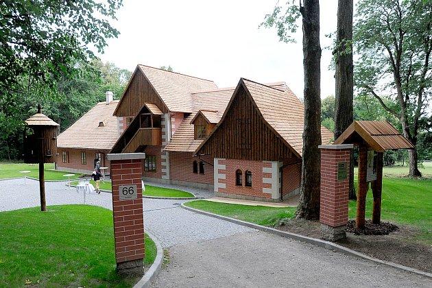 Zrekonstruovaná slatiňanská Švýcárna nyní slouží jako muzeum.