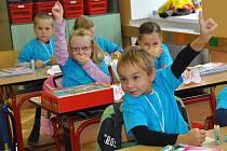 Zahájení školního roku na Základní škole Smetanova v Hlinsku.