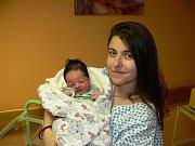 LIBOR GREGOR (3,63 kg a 51 cm) je od 28.12. od 9:11 jméno prvního miminka Libora a Ivany z Kutřína.