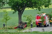 Dopravní nehoda na silnici 337 mezi Ronovem a Žleby